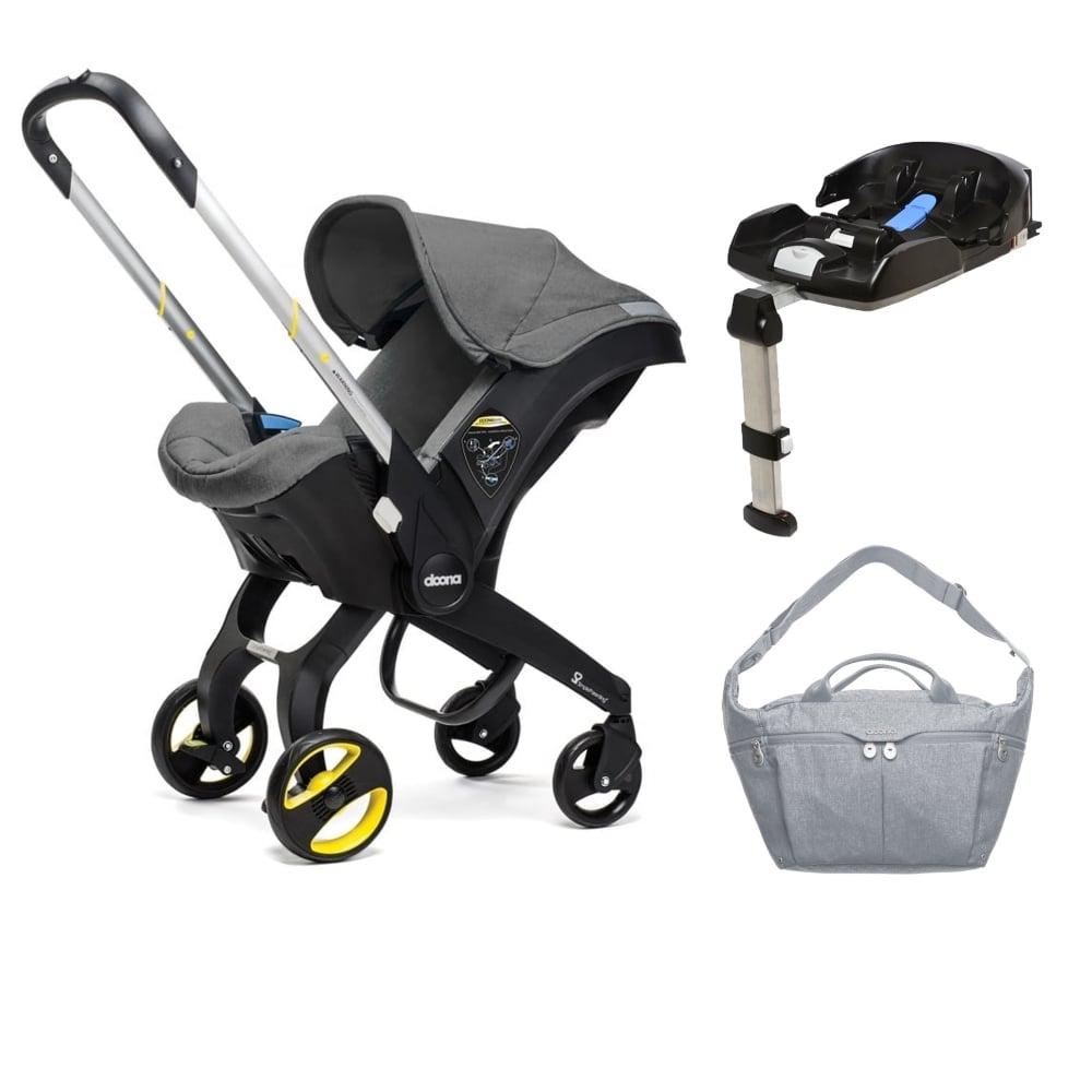 Doona Infant Car Seat Isofix Base FREE Changing Bag