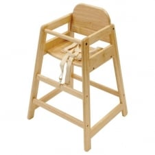 Cafe Wooden Highchair
