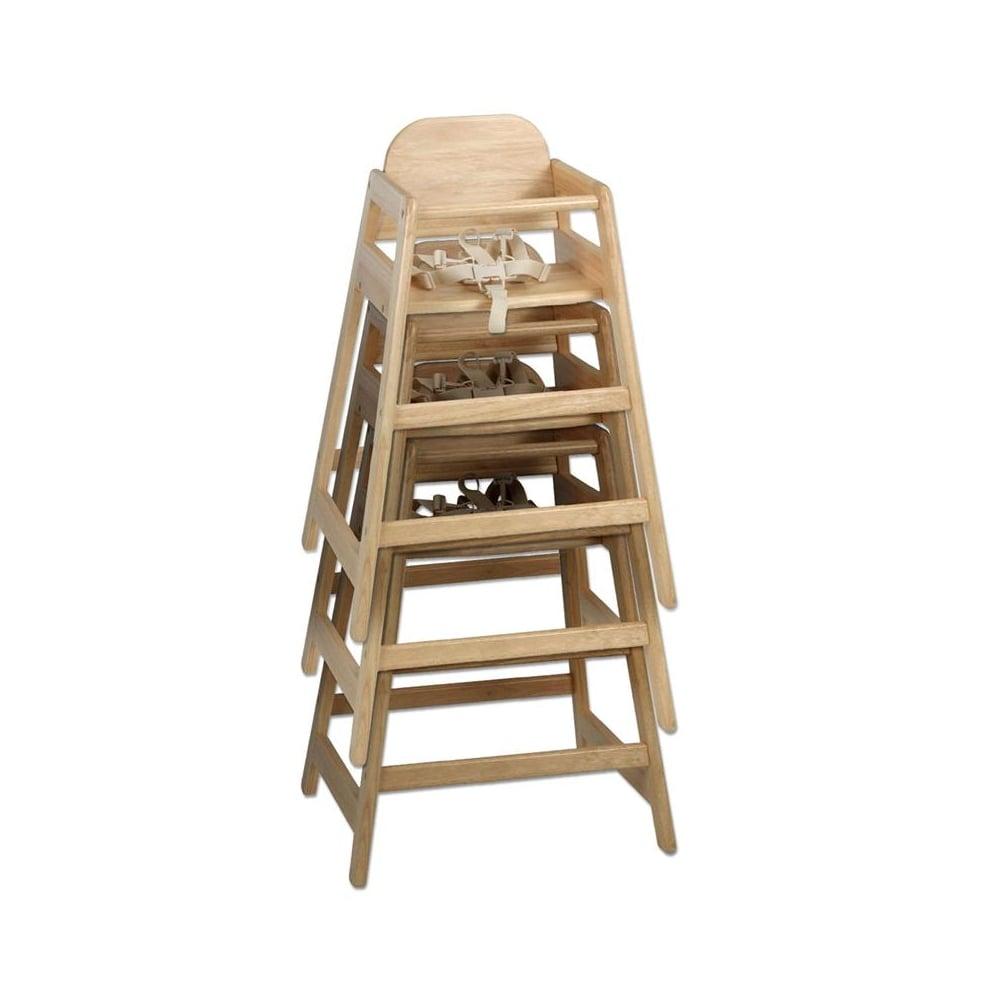 Cafe Wooden Highchair