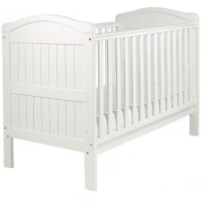 Country Cot Bed - White