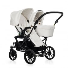 Double Viking - Carrycot + Seat Unit - Leathertte