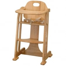 Multi Height Wooden Highchair