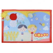 """Say Hello"" Friends Double-sided Activity Mat"