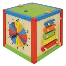 """Say Hello"" Rest & Play Activity Cube"