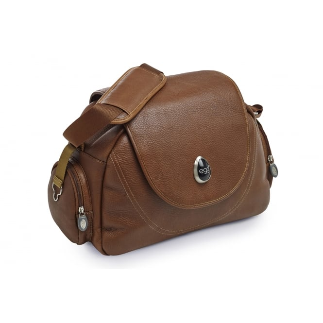 Egg® Leather Changing Bag