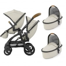 Tandem + 2 Carrycots - Jurassic Special Edition Package - Cream