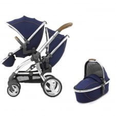 Tandem + Carrycot - Regal Navy
