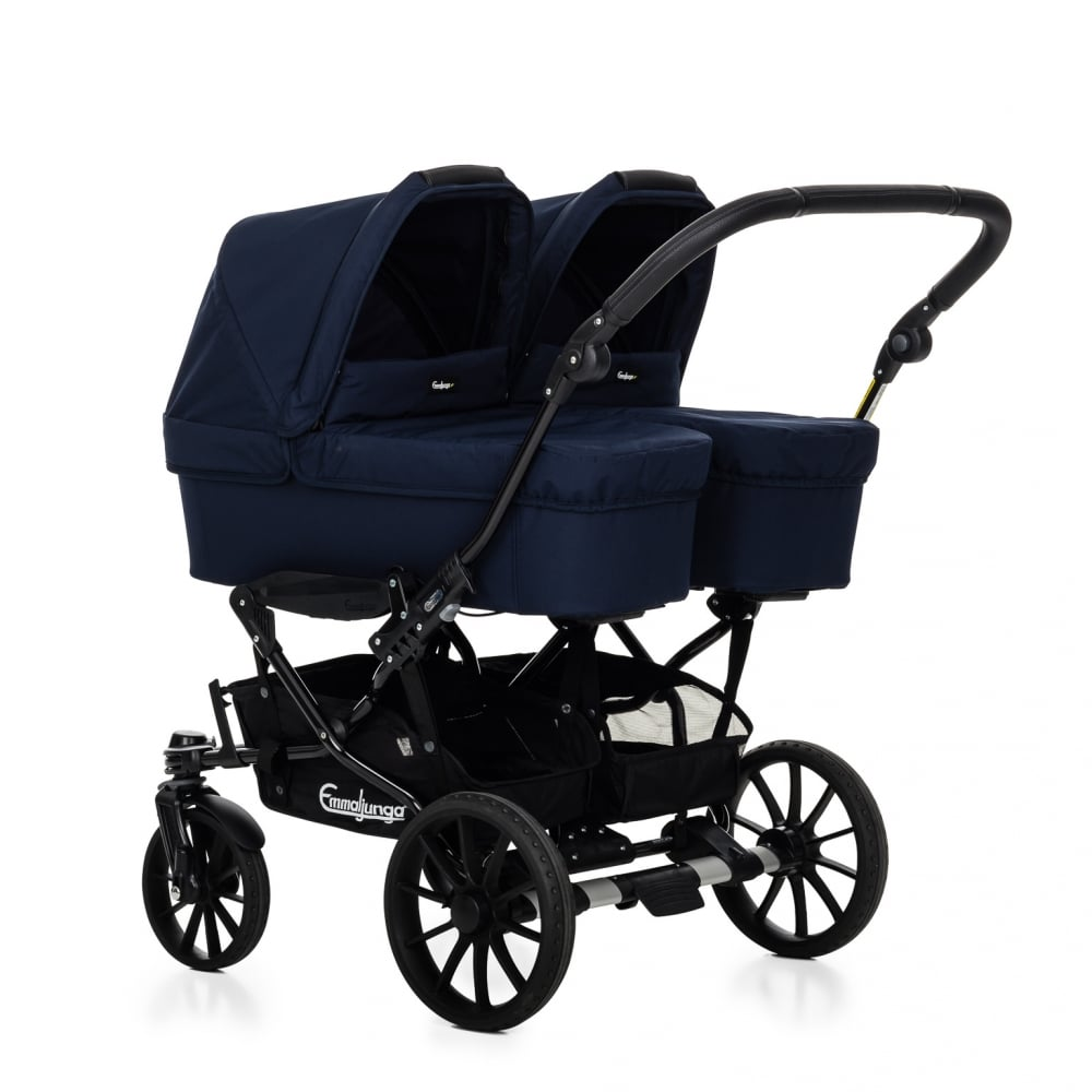 Double Viking 2 Carrycots 2 Seat Units Prams