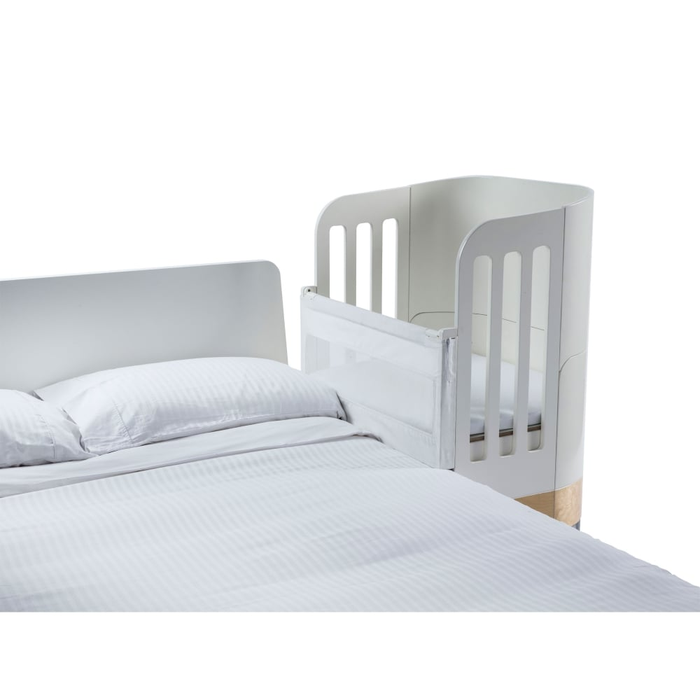 Gaia Baby Co Sleeping Adapter Incl Mattress Whitenatural Cots