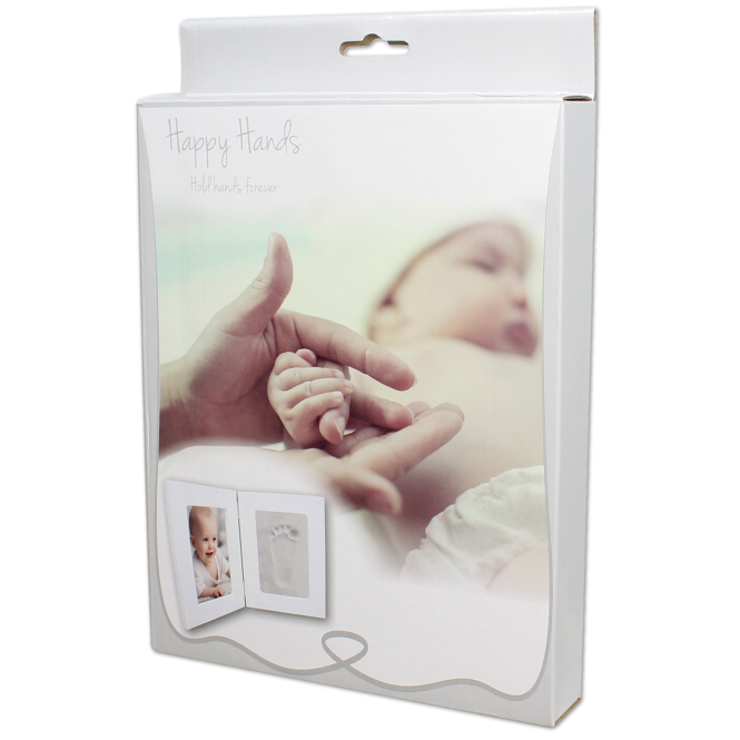 Happy Hands Double Frame Hand Print Kit