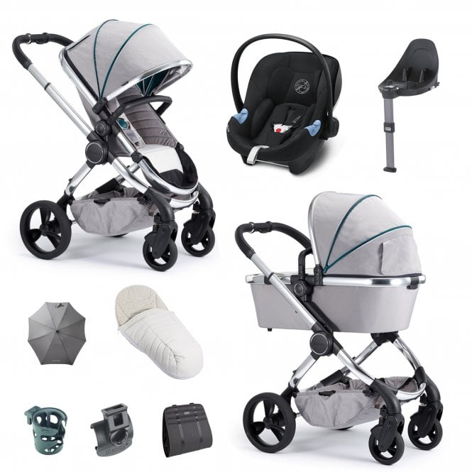 iCandy Peach 3in1 Car Seat, Base & Accessories Package