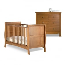 Bailey Cot Bed & Chest of Drawers