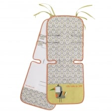 Reversible Cotton Pushchair Seat Liner