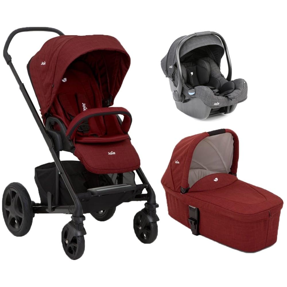 Chrome DLX Carrycot Amp I Gemm Car Seat Bundle