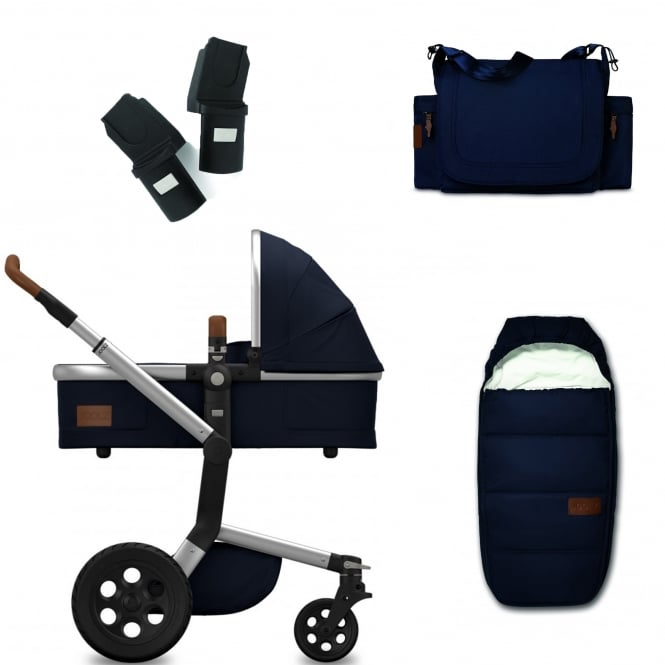 Joolz Day Earth Package - Parrot Blue + FREE sleeping bag, nursery bag & adapters