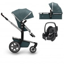 Day² Quadro + Carrycot + Pebble - Blu