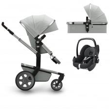 Day² Quadro + Carrycot + Pebble - Grigio