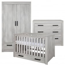 Fjord Grey 3 Piece Room Set