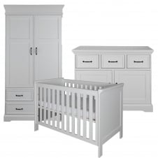 Savona White 3 Piece Room Set