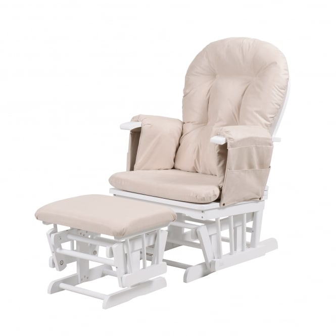 Groovy Tutti Bambini Deluxe Padded Smooth Glider Nursing Chair Ncnpc Chair Design For Home Ncnpcorg