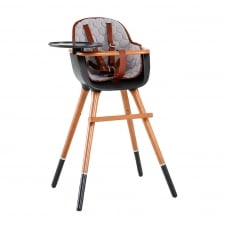 Micuna OVO City High Chair with Leatherette Harness & Seat Fabric