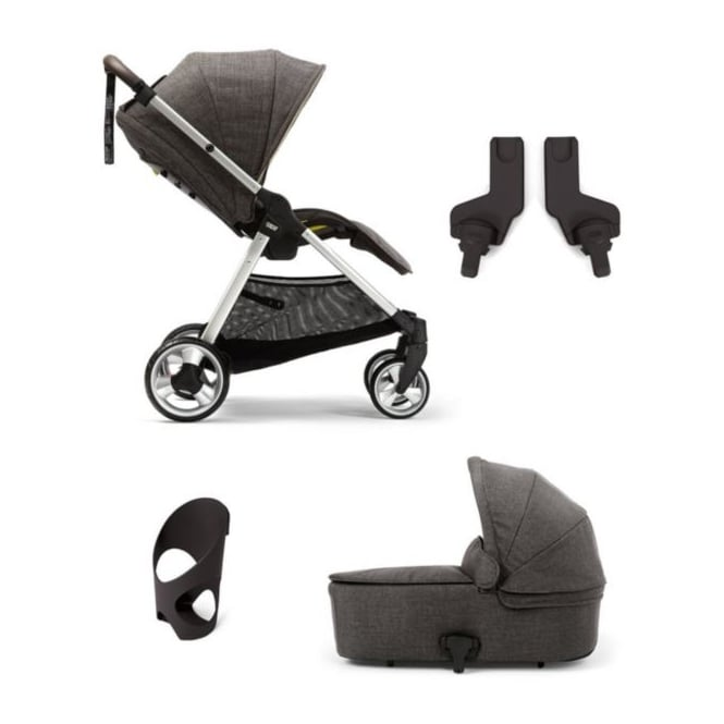 Mamas & Papas Armadillo Flip XT - 4 Piece - Flip XT + Carrycot + Cup Holder + Adapter