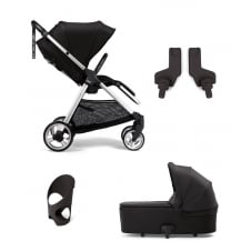 Flip XTŒ_ - 4 Piece - Pushchair + Carrycot + Cup Holder + Adaptors