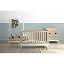 Lawson 3 Piece Set with Clothing Rail