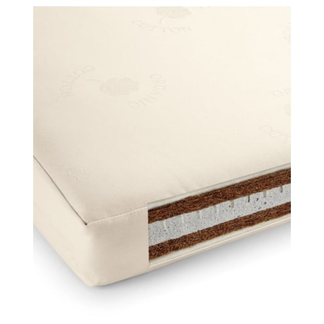 Mamas & Papas Natural Cotbed Mattress