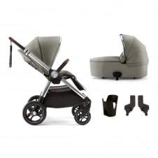 Mamas & Papas Ocarro - Sage Green 4 Piece - Pushchair + Carrycot +