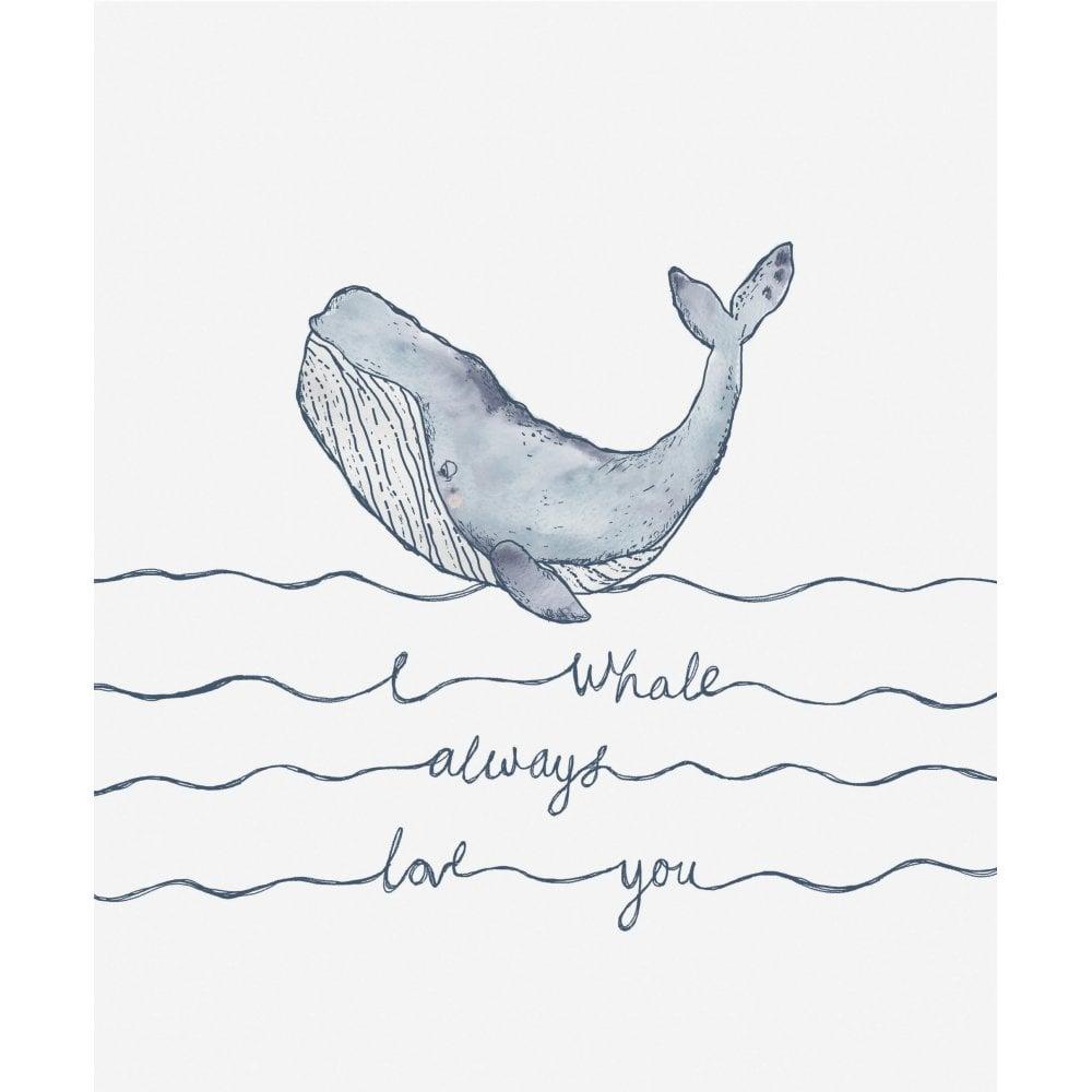 Sail Away with Me Mamas and Papas Whale Cushion