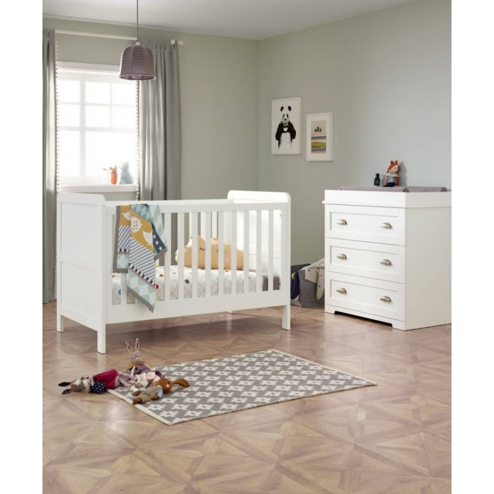 Beau Shipley 2 Piece Furniture Set   Cot Bed And Dresser