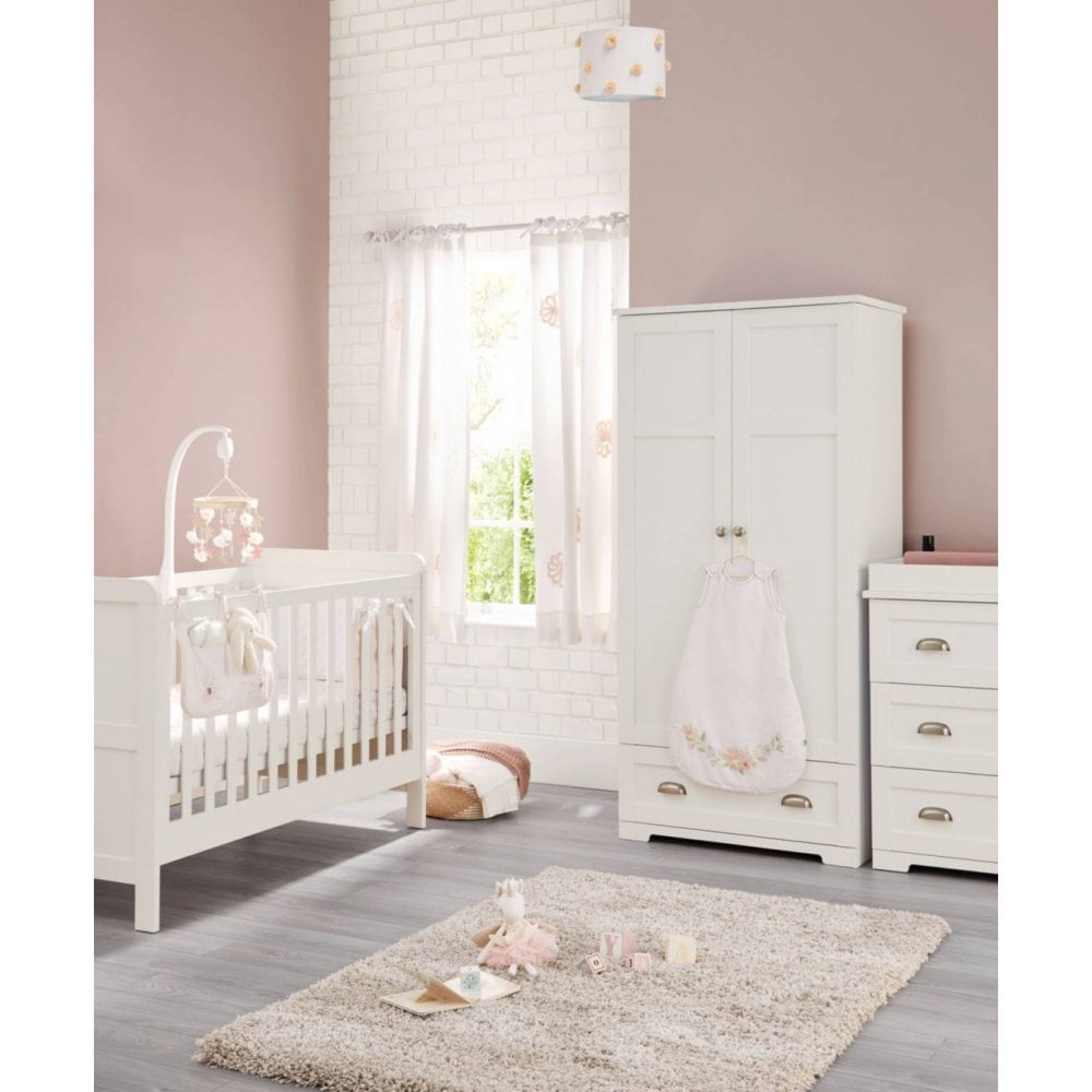 Mamas Amp Papas Shipley Range 3 Piece Room Set White