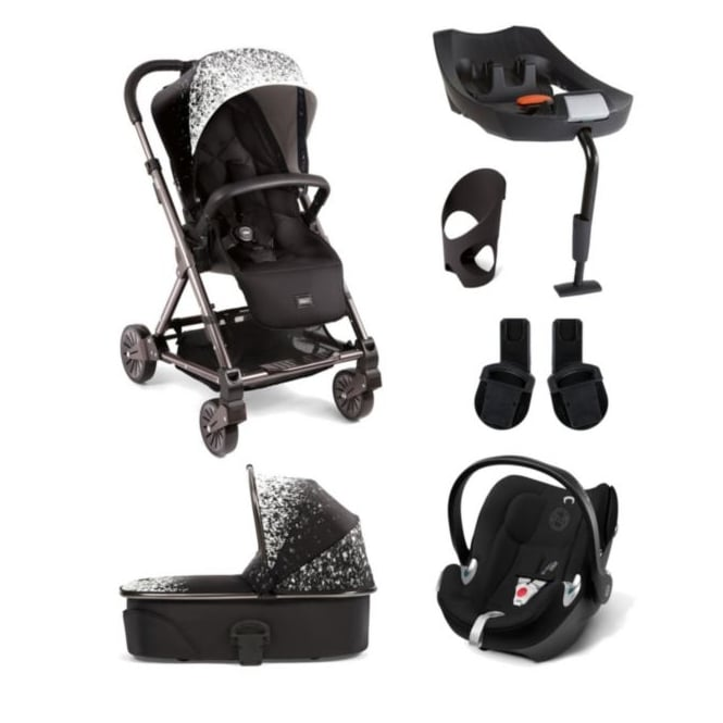 Mamas & Papas Urbo² 6 Piece - Urbo + Carrycot + Aton + Isofix Base + Cup Holder + Adapters