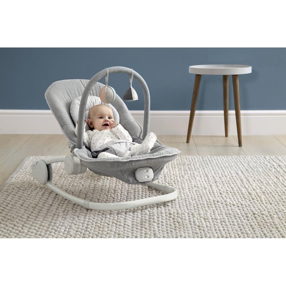 Mamas Papas Apollo Bouncing Baby Cradle Grey Melange Baby