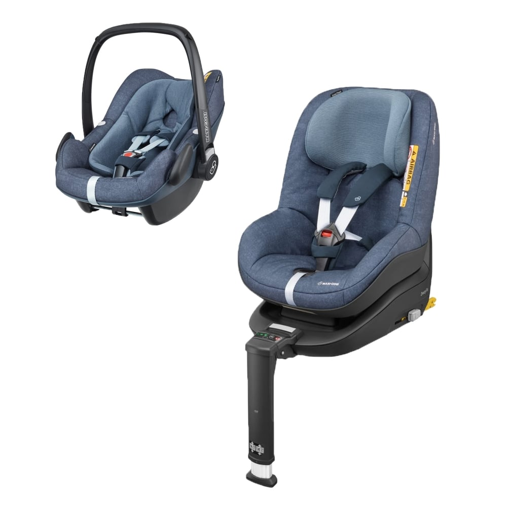 maxi cosi 2waypearl pebble plus 2wayfix base nomad blue car seats carriers luggage. Black Bedroom Furniture Sets. Home Design Ideas