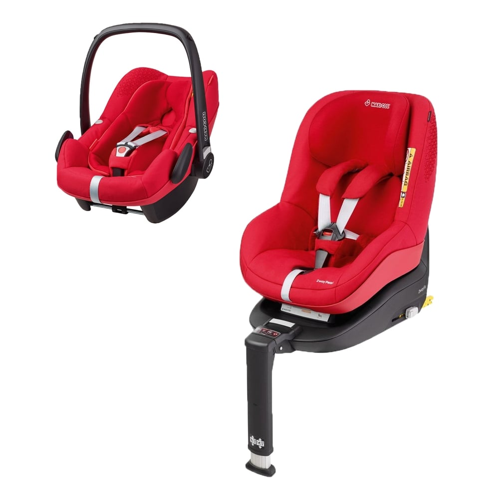 maxi cosi 2waypearl pebble plus 2wayfix base origami red car seats carriers luggage. Black Bedroom Furniture Sets. Home Design Ideas