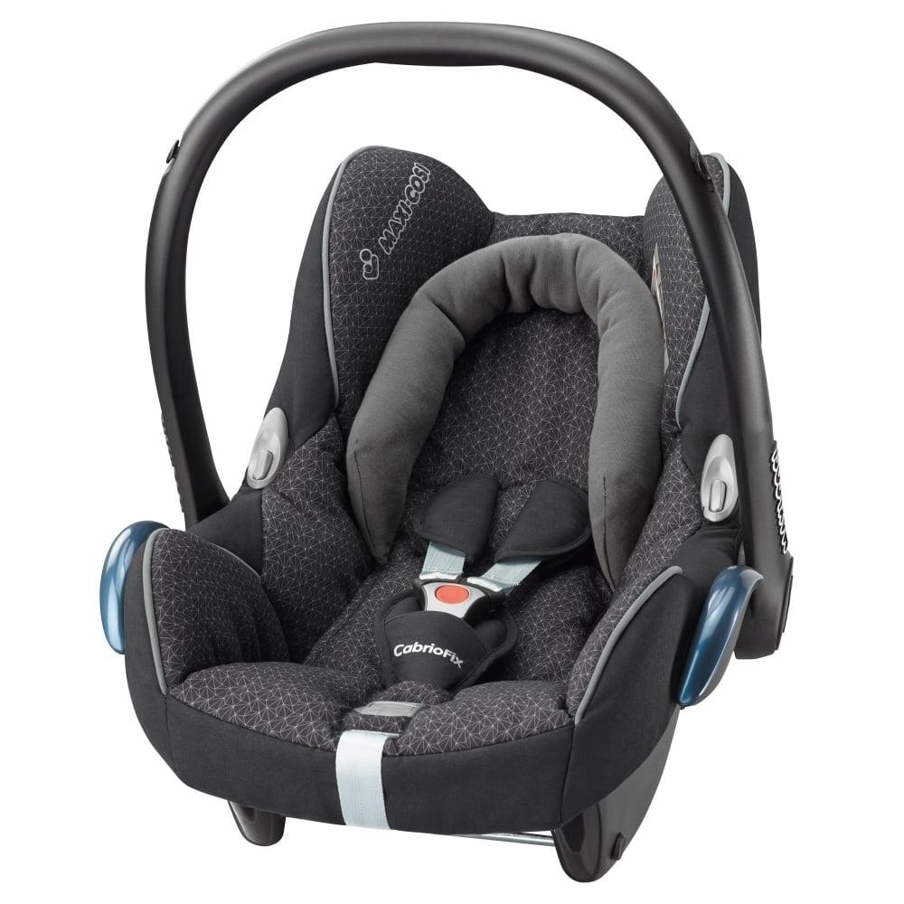 Maxi Cosi Cabriofix Car Seat Black Crystal Car Seats