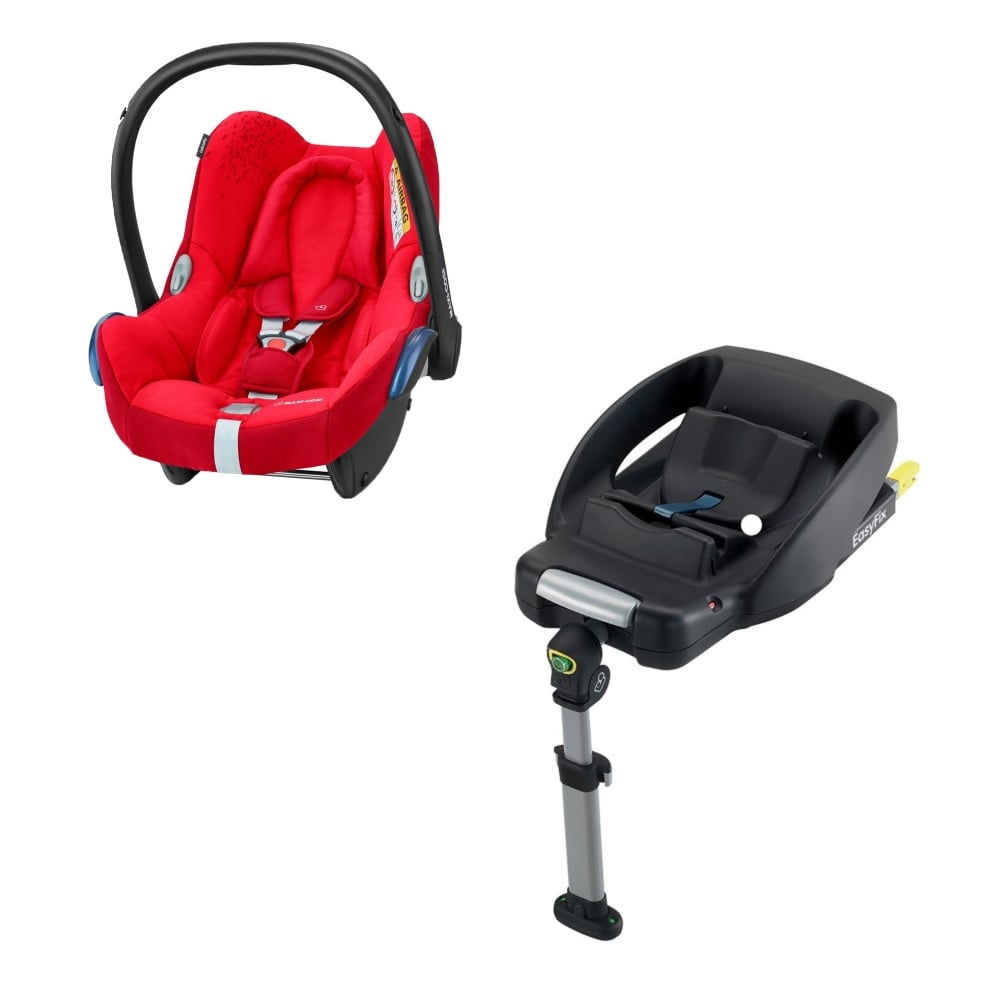 maxi cosi cabriofix car seat red velcromag. Black Bedroom Furniture Sets. Home Design Ideas