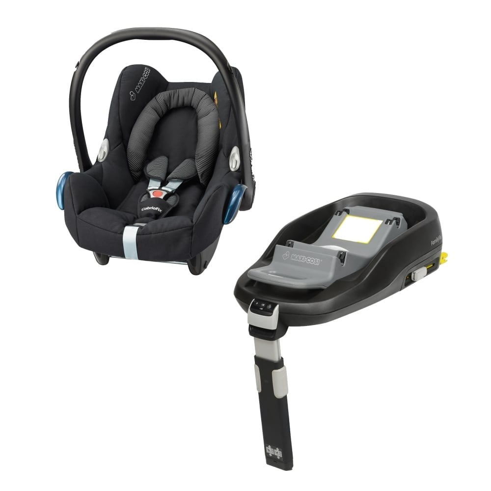 Maxi-Cosi Cabriofix + FamilyFix Base - Black Raven - Car Seats ...