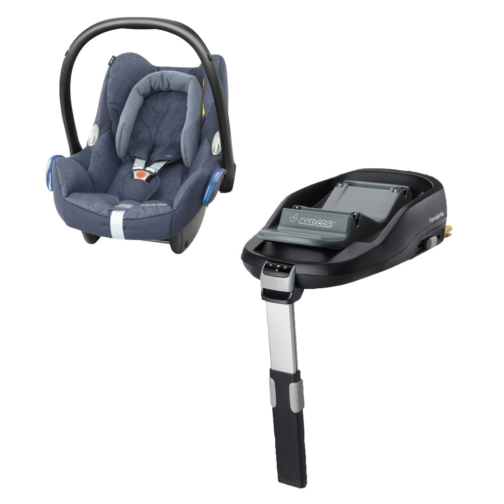 maxi cosi cabriofix familyfix base nomad blue car. Black Bedroom Furniture Sets. Home Design Ideas