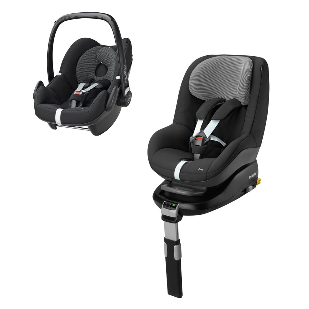 maxi cosi pebble familyfix base free pearl black raven car seats carriers luggage from. Black Bedroom Furniture Sets. Home Design Ideas