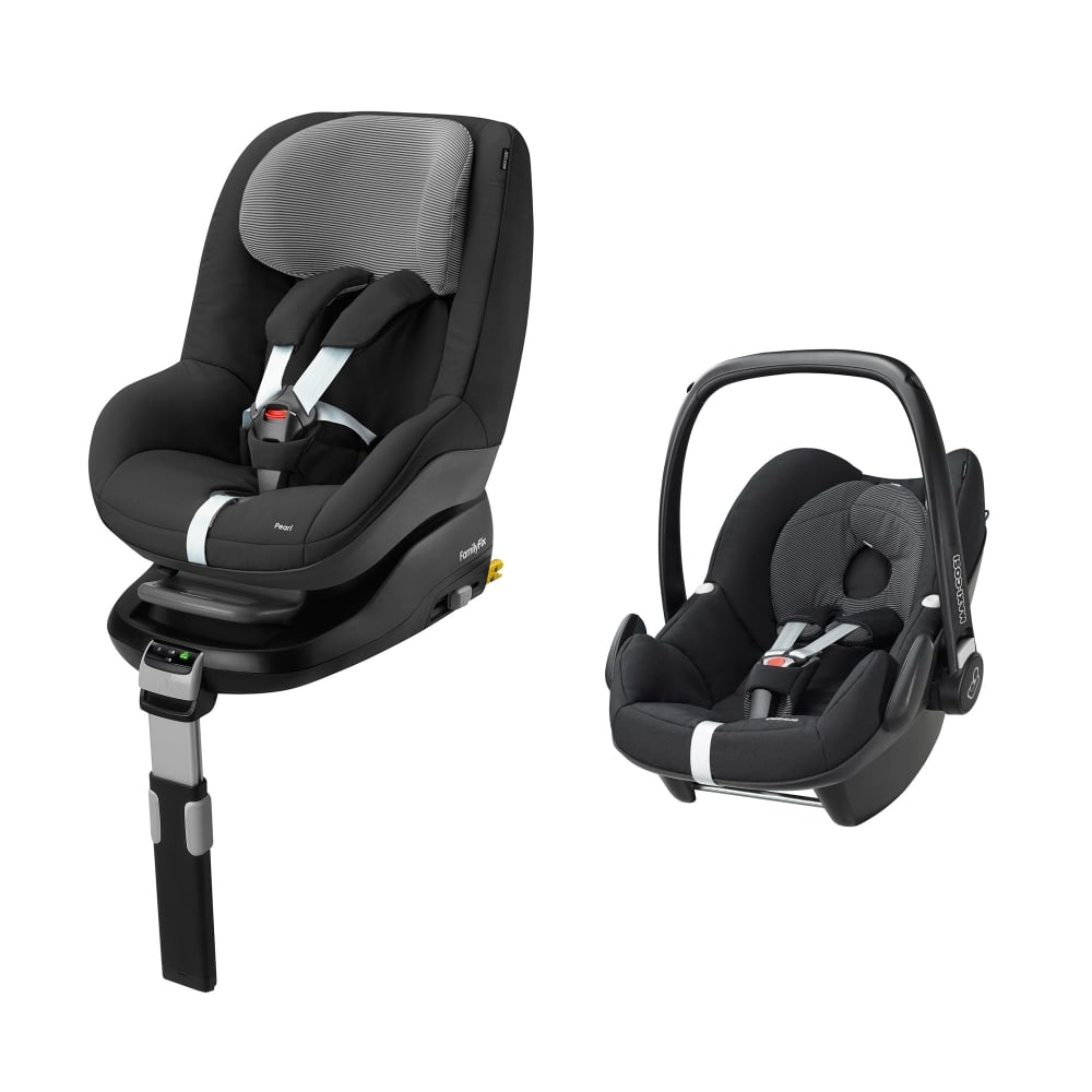 maxi cosi pebble pearl and familyfix base mega deal car. Black Bedroom Furniture Sets. Home Design Ideas