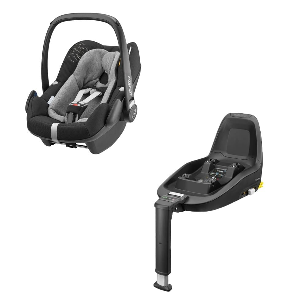 maxi cosi pebble plus 2wayfix base black lines car. Black Bedroom Furniture Sets. Home Design Ideas