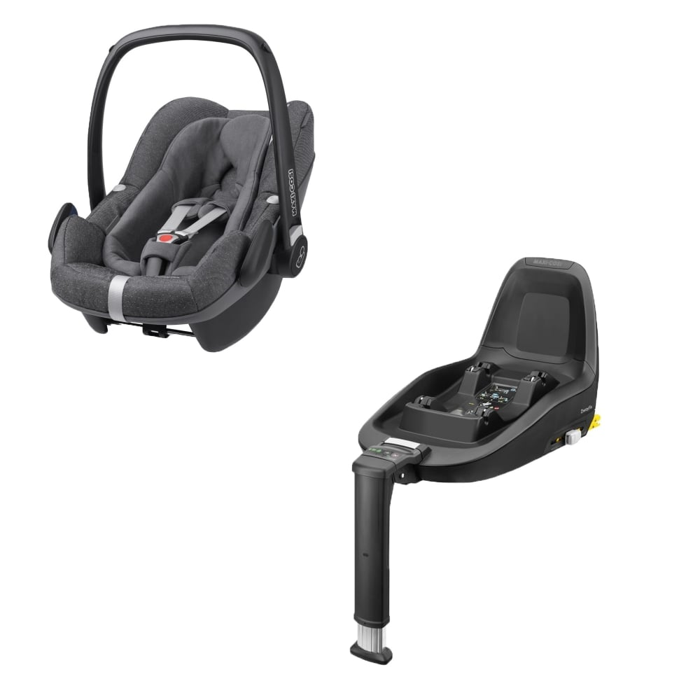 maxi cosi pebble plus 2wayfix base sparkling grey car seats carriers luggage from. Black Bedroom Furniture Sets. Home Design Ideas
