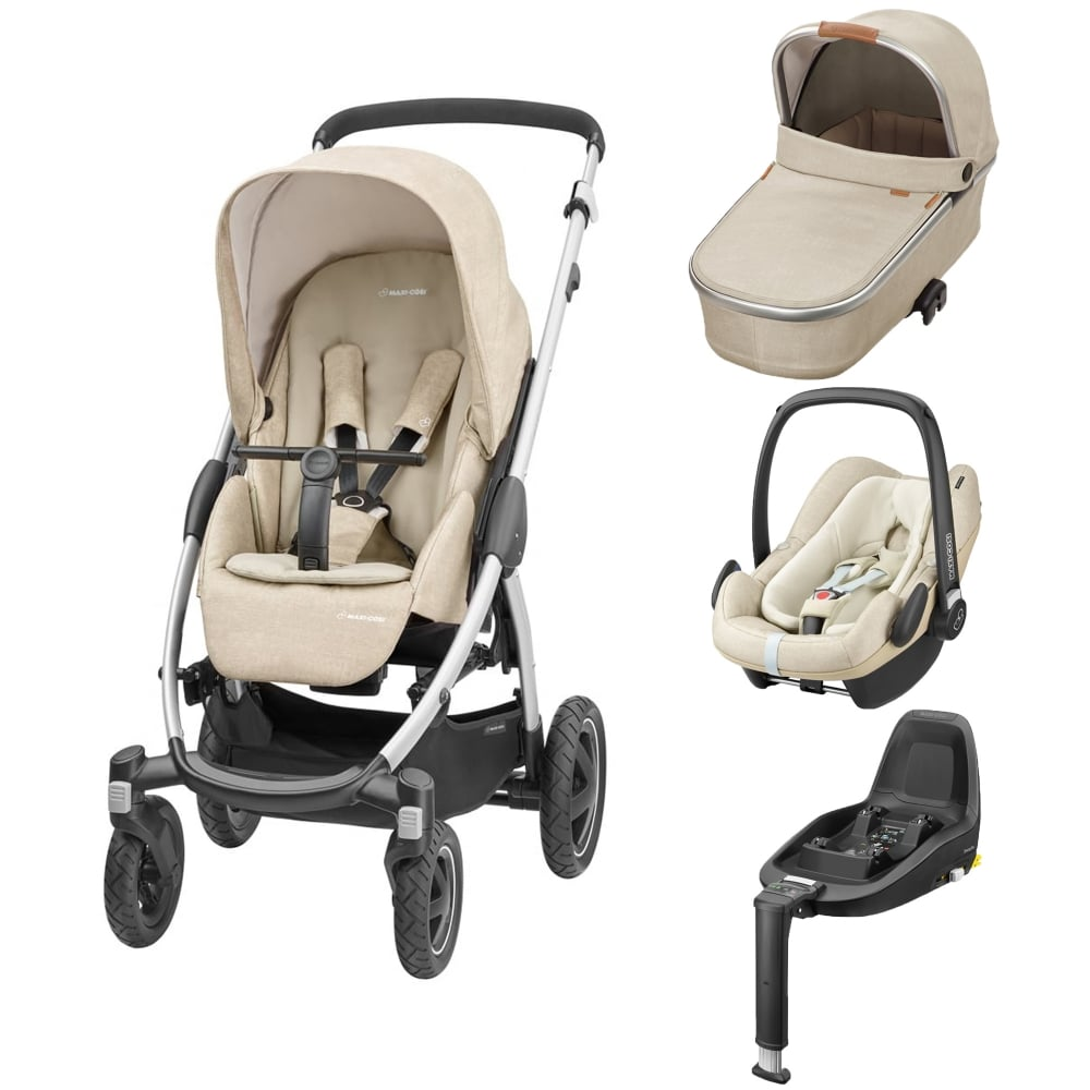 maxi cosi stella 3in1 pebble plus 2wayfix base nomad. Black Bedroom Furniture Sets. Home Design Ideas