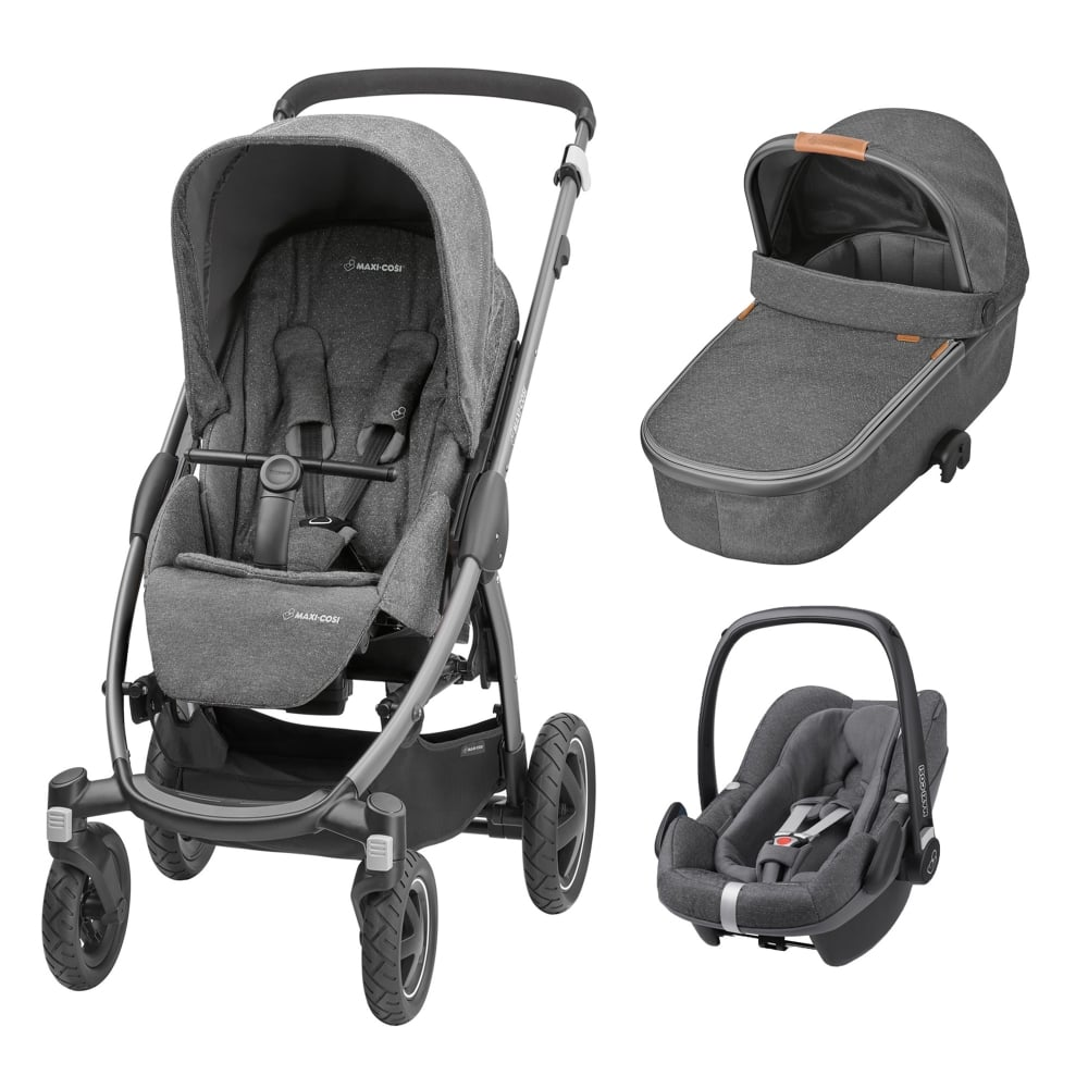 maxi cosi stella 3in1 pebble plus sparkling grey prams pushchairs from pramcentre uk. Black Bedroom Furniture Sets. Home Design Ideas