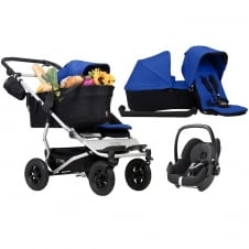 Duet As A Single + Family Pack & Pebble Car Seat - Marine