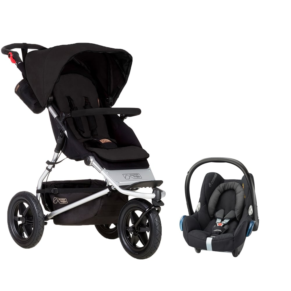mountain buggy urban jungle cabrofix car seat prams pushchairs from pramcentre uk. Black Bedroom Furniture Sets. Home Design Ideas