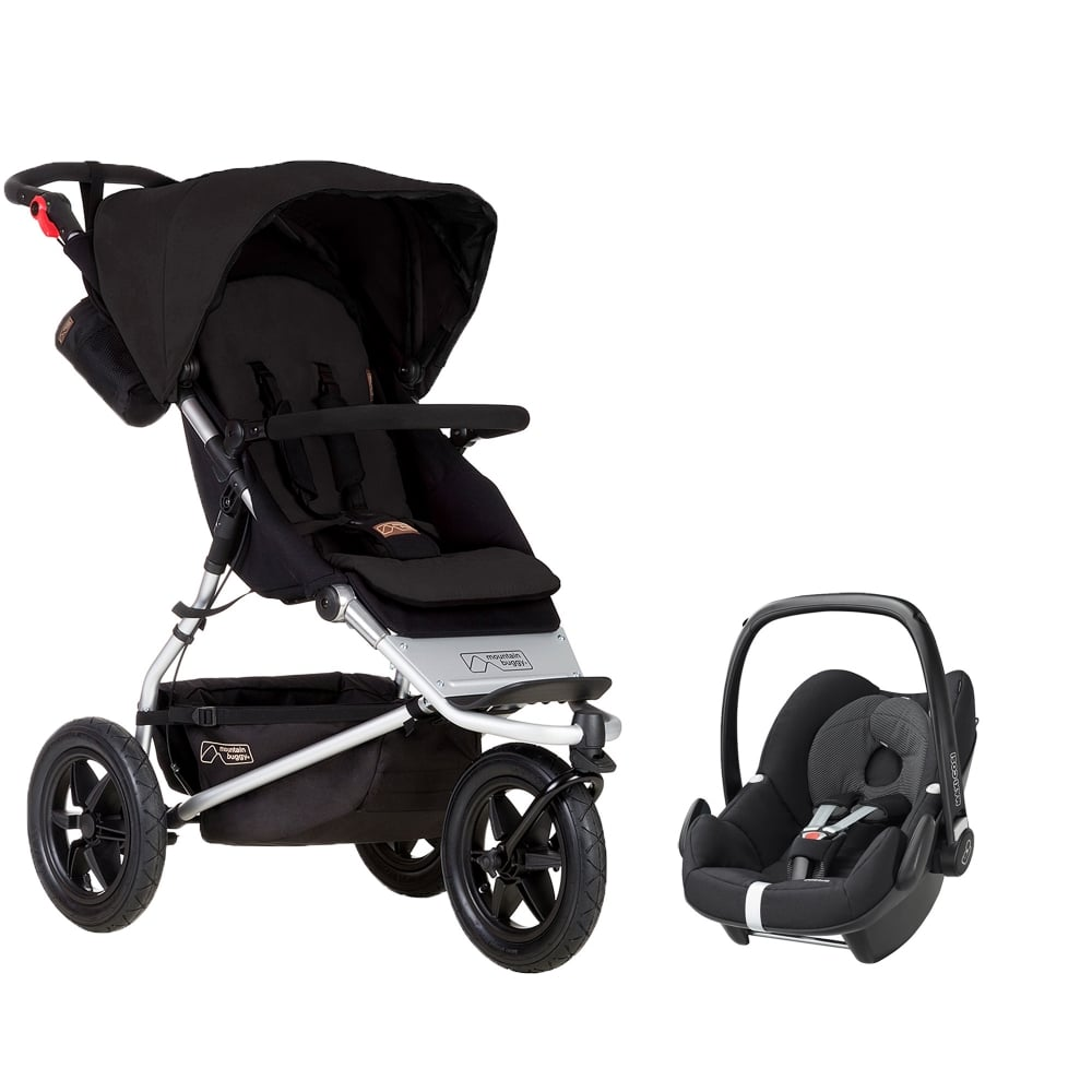mountain buggy urban jungle pebble car seat prams pushchairs from pramcentre uk. Black Bedroom Furniture Sets. Home Design Ideas